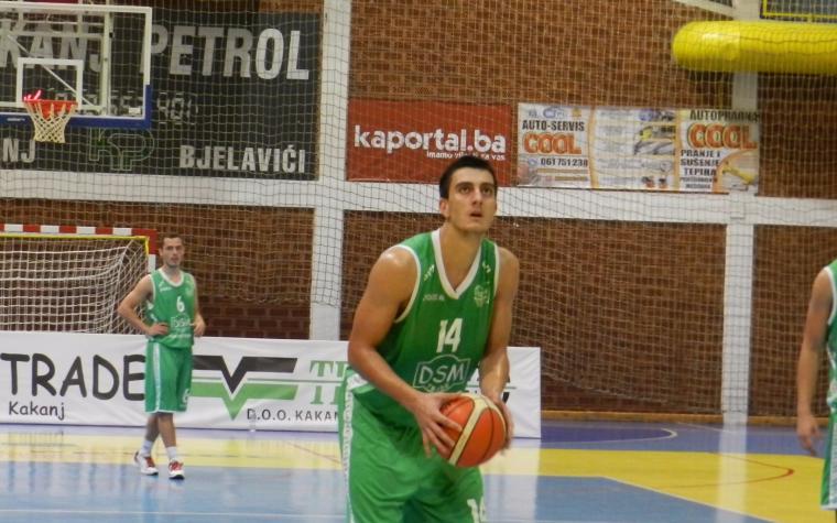 Obrad Tomic joined KK Partizan